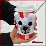 12 Days of Christmas: Polar Bear Cup Cozy