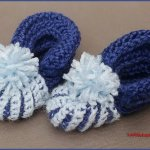 Crochet Tutorial: Simple Infant Booties