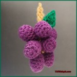 Crochet Tutorial: Bunch of Grapes Amigurumi