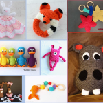 Crochet Baby Toys Round-Up