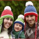 FREE Written Crochet Pattern: Family Fair Isle Hat