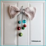 12 Days of Christmas: Bow & Bauble Door Hanging – Photo Tutorial