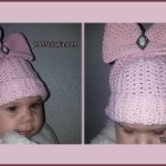 12 Days of Christmas: Beanie with Bling – FREE Written Crochet Pattern