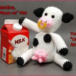 FREE Written Crochet Pattern: Cow Amigurumi