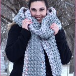 FREE Crochet Video Tutorial: Two Stitch Grande Scarf