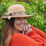 FREE Written Crochet Pattern: Honey Bee Sunhat