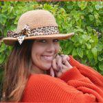 FREE Written Crochet Pattern: Honey Bee Sunhat
