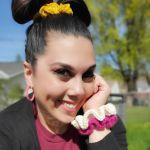 FREE Written Crochet Pattern: Hair Scrunchies