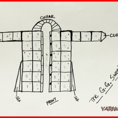 Crochet Granny Square Diagram Simple Auto Wiring Cardigan Yarnutopia By Nadia Fuad Here Is The Back View Of That I Drew Up