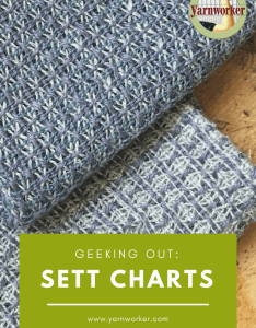 Geeking out on sett charts also yarnworker know how for the rigid rh