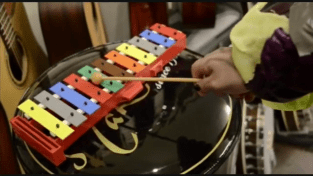 "Make your own horror movie trailer entitled, ""X is for Xylophone"""