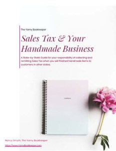 Sales Tax & your handmade business