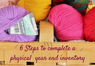 Year-end physical inventory tips
