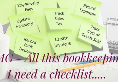 Bookkeeping & Accounting Task Checklist-Free Download