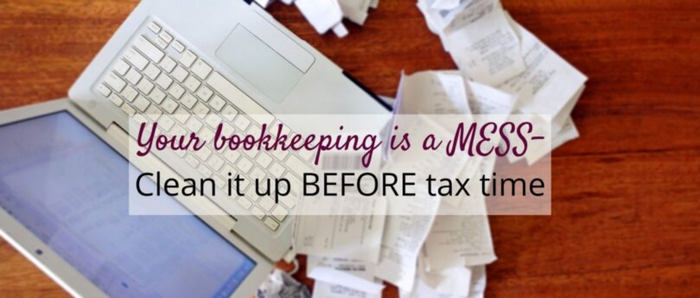 Bookkeeping messes are inevitable…..unless You learn to take that same focus, drive, and organizational skills that you have when it comes to cranking out product and scheduling craft fairs and apply it to your own internal office stuff!