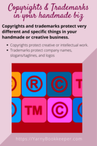 Copyrights & Trademarks in your handmade business