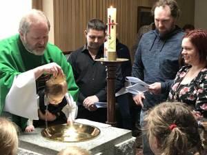 Yarrawonga Anglican Church Baptism 07/18