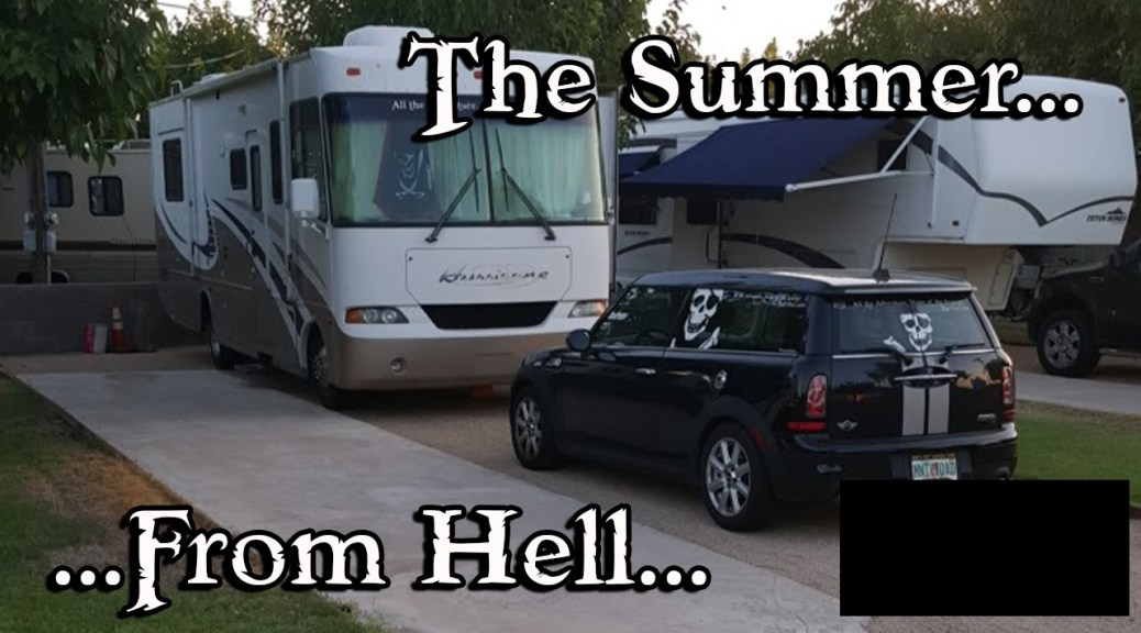 I am Back! It's been the Summer From (In) Hell!