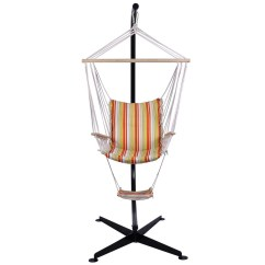 Air Chair Stand Heavy Duty Kitchen Chairs Home Steel C Hammock Frame Construction