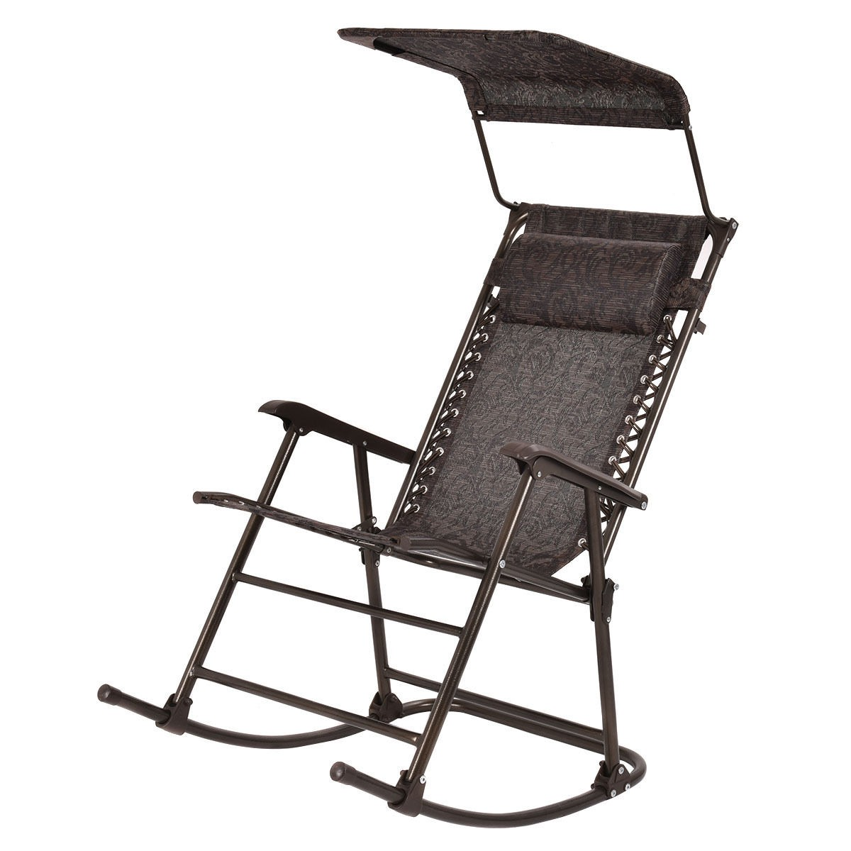 Folding Rocking Chair In A Bag Outdoor Home Daddy Folding Rocking Chair Rocker Patio