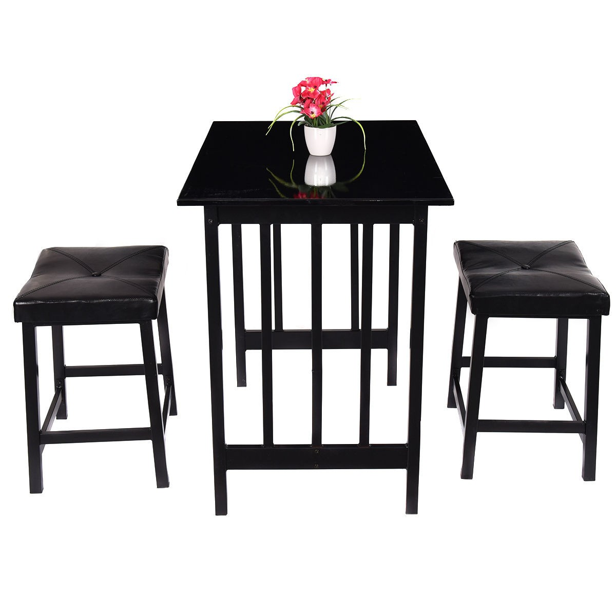 high bar table and chair set a is still 3pcs kitchen counter height dining 2 chairs