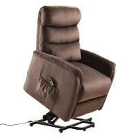 Luxury Power Lift Chair Recliner Armchair Electric Fabric ...
