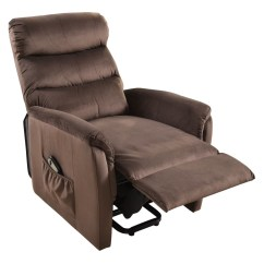 Push Button Recliner Chairs Increase Chair Height Modern Luxury Power Lift Armchair Electric