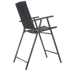 Indoor Folding Chairs Nz Bar Stool Chair Rental Us Outdoor Rattan Wicker 4pcs