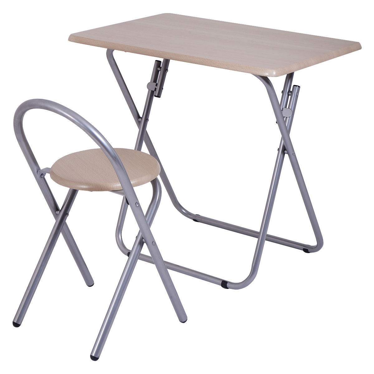 portable study chair antique chippendale chairs value room writing desk table set folding
