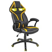 High Back Racing Bucket Seat Gaming Chair Computer PC Desk ...