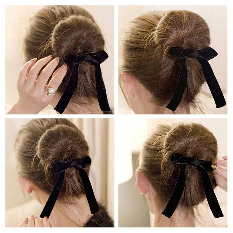Magic Ribbon French Twist Bun Maker Curler Braid Ponytail Hairstyle Styling Tool  eBay