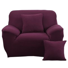 Single Sofa Chair Cover Sofas Glasgow Stretch Covers Seater Protector Couch ...