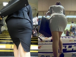 【NF】スーツのお尻にパンツが浮き上がってるエロ画像ください。