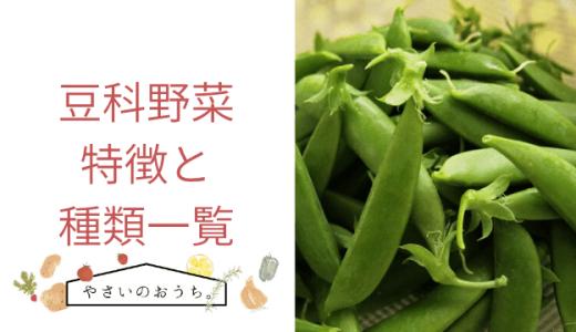 豆科野菜の特徴と種類一覧 スナップエンドウや枝豆も