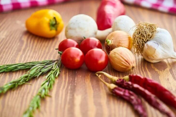 農薬と野菜
