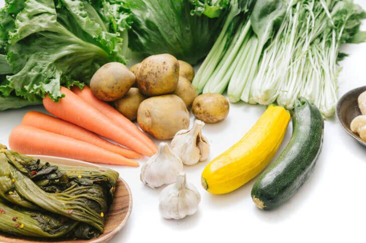 わんまいるのこだわりの野菜。国産100%