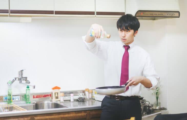 夫は料理ができますか?
