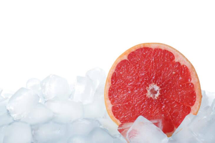 グレープフルーツを冷凍保存する方法