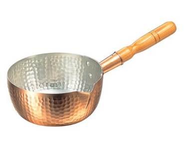丸新銅器 雪平鍋 銅 18cm