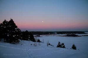 sunset fullmoon1