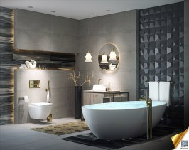 2018 modern banyoları, modern banyo tasarım modelleri, modern banyo dekorasyonu, modern banyo önerileri, banyolar