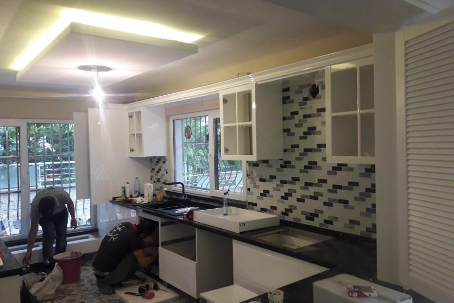 Başakşehir banyo mutfak dekorasyonu