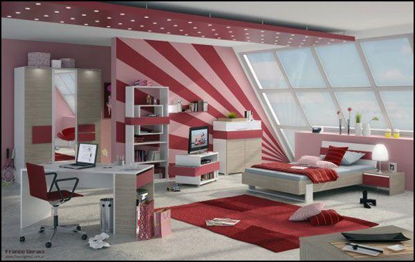 Kız Yatak Odası Dekorasyon Fikirleri