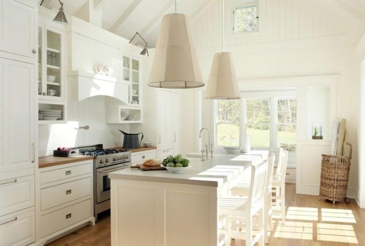 Modern Beyaz Mutfak Dolapları