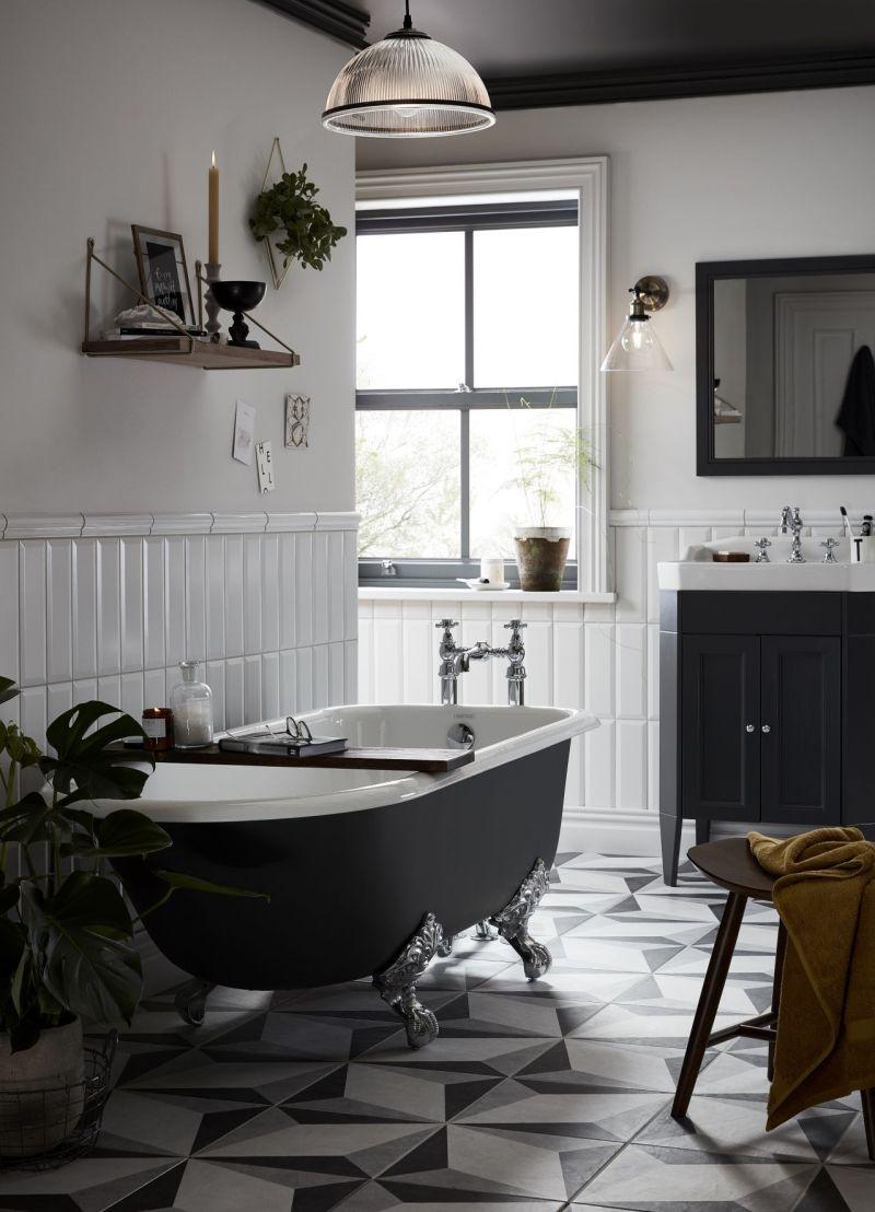 Siyah Banyo Tasarımı Fikirleri