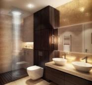 banyo yıkanma alanları