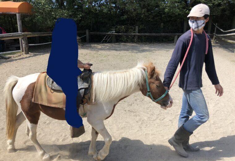 渋川動物公園で乗馬体験をしました。
