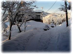 2002年冬妙高高原ロッジ風景