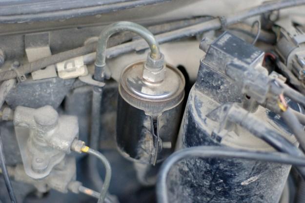 Бензинов филтър. Изходно положение.