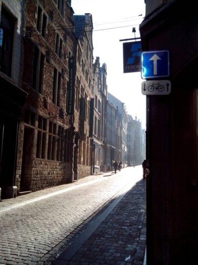 Belgian pavement